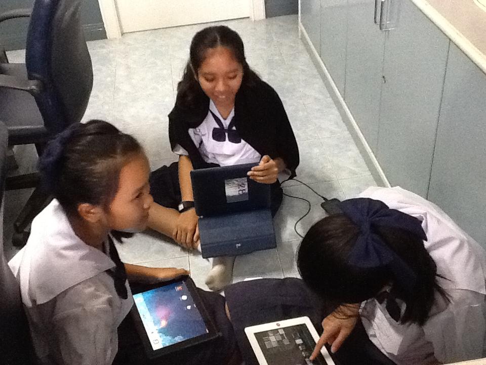 ภาพกิจกรรม iClassroom 1 วิชาฟิสิกส์