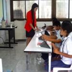 นักเรียนใช้ ipad